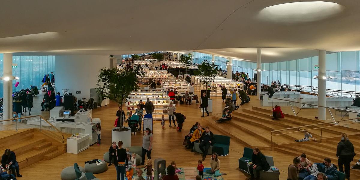 Finnish libraries